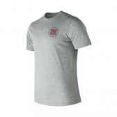 New Balance 新竹皇家 灰色 數字系列 棉質 運動短衫 男女款NO.H2095