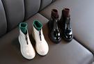 女童靴子2019秋季新款韓版兒童時尚馬丁靴小女孩洋氣英倫風短靴潮