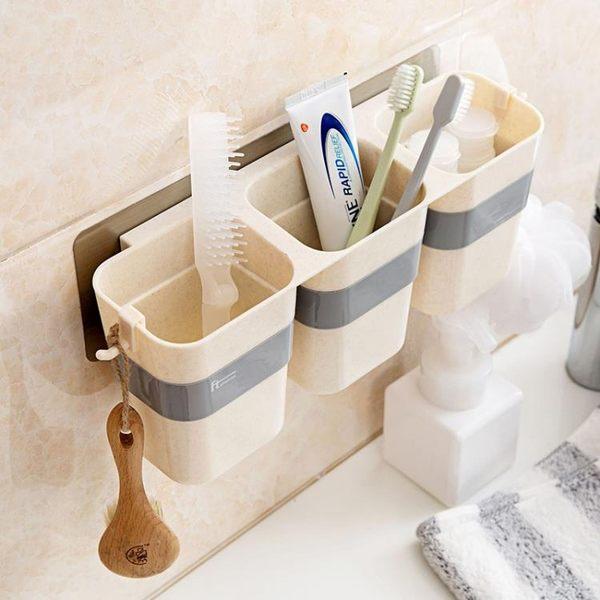 [超豐國際]杯型瀝水置物架廚房用品浴室壁掛收納架多功能儲物架整理架