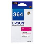 EPSON T364350 (NO.364) 原廠紅色墨水匣 xpression Home XP-245 / XP-442