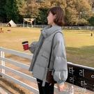 棉外套 短款羽絨棉衣棉服女韓版寬鬆秋冬季外套冬裝棉襖年女加厚 芊墨左岸