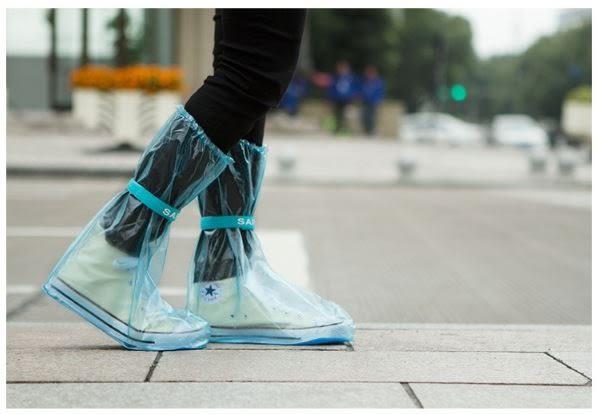 戶外旅遊加厚防滑雨鞋套 /  超強防水高筒雨套 49元
