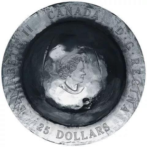 【台灣大洋金幣】加拿大鋼盔47.6克銀幣