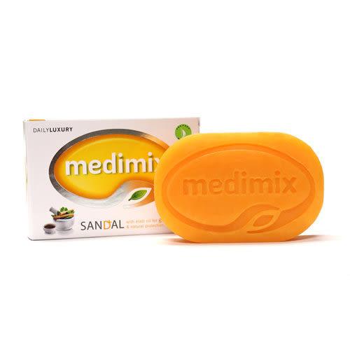 Medimix阿育吠陀美膚皂125g(香白美肌)【寶雅】Medimix 印度神皂帆船飯店
