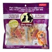 【寵物王國】Pet Village/PV-124-200P10 PV起司雞肉潔牙鱷魚200g