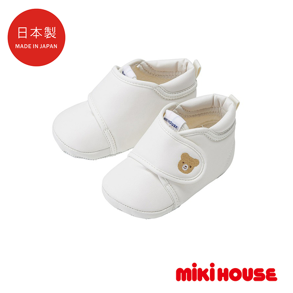 MIKI HOUSE BABY 日本製 寶寶軟底學步鞋