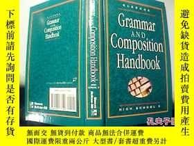 二手書博民逛書店Grammar罕見AND Composition Handbook HIGH SCHOOL 2【 1】Y186
