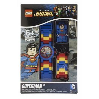 LEGO樂高兒童手錶超級英雄系列 -超人