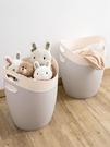 北歐臟衣籃臟衣服收納筐玩具收納桶塑膠收納籃臟衣簍洗衣籃 【母親節禮物】