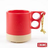 CHUMS 日本 露營野餐 保溫保冷馬克杯 紅/米白 ( 250ml) CH6201495128