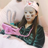 少女心放映室 創意挂脖子懶人手機支架 床頭桌面手機架多功能通用