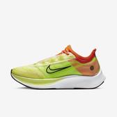 Nike WMNS Zoom Fly 3 Rise [CQ4483-300] 女鞋 運動 避震 透氣 健身 慢跑 綠黑