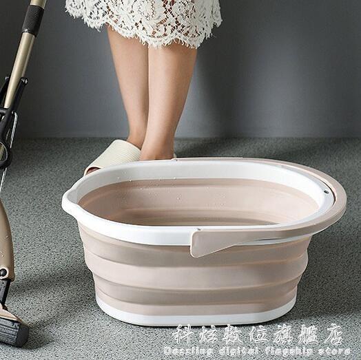 摺疊水桶家用拖把桶大號長方形儲水桶塑料桶小方桶洗衣桶手提便攜 聖誕節免運