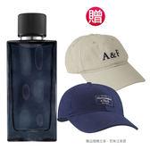 Abercrombie&Fitch 湛藍男性淡香水50ml(贈)A&F品牌棒球帽(贈品依實際出貨為準)★Vivo薇朵