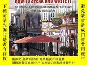 二手書博民逛書店German:罕見How To Speak And Write ItY255562 Rosenberg, Jo