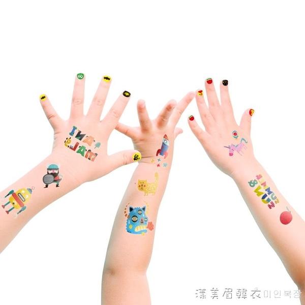 圣誕節禮物貼紙兒童指甲貼紙防水安全女孩紋身貼貼紙書卡通貼玩具 漾美眉韓衣