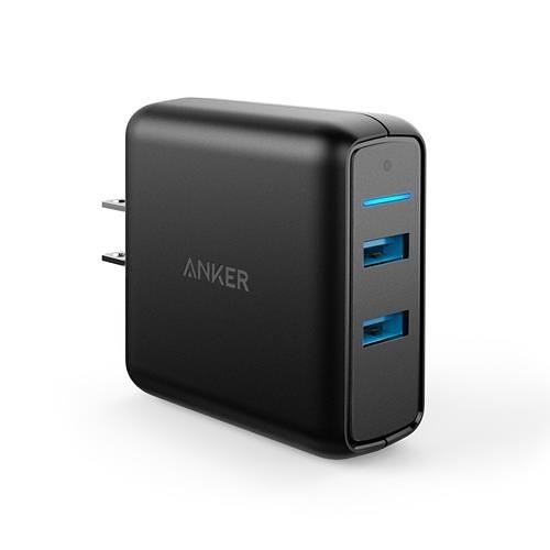 【日本代購】Anker PowerPort Speed 2 (39.5瓦特 USB快速充電器 支持iPhone Galaxy