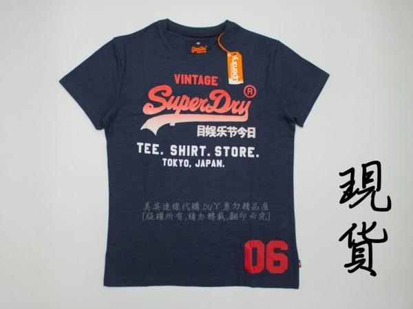 美國代購 現貨 Superdry 極度乾燥 Shirt Shop Fade 經典款 T-shirt (L)
