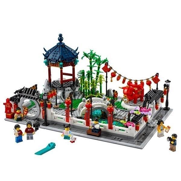【南紡購物中心】【LEGO 樂高積木】中國農曆新年 Chinese Trad Fest 系列 - 新春元宵燈會80107