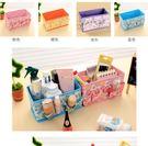 【TT325】多彩多格化妝品收納盒 辦公...