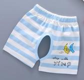 女寶寶純棉褲子夏3兒童夏裝薄款嬰兒開襠短褲夏季0-1歲男童開檔褲