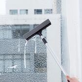 長柄伸縮雙面玻璃擦海綿擦窗器玻璃清潔工具
