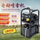 農用高壓小型多功能手提式電動新式雙泵充電智能噴霧機【帝一3C旗艦】YTL