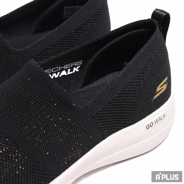 SKECHERS 女 健走鞋GO WALK STABILITY 固特異橡膠 抓地力-124601BKGD
