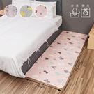 床邊墊 親膚純棉絎縫地墊 絎縫床邊墊-70X180cm 旺寶 防滑 絎縫墊