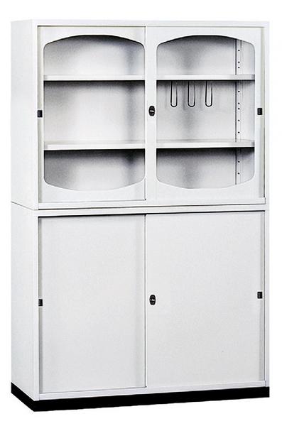 【 IS空間美學】K415鐵櫃(拉門)