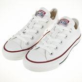 CONVERSE~All Start-基本款女 白色帆布鞋(M7652C)