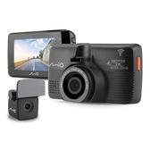 送32G卡+手機支架『 Mio MiVue 798+A40後鏡頭 = 798D 』星光級前後雙鏡頭行車記錄器+GPS測速器/紀錄器