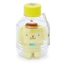 【震撼精品百貨】Pom Pom Purin 布丁狗~三麗鷗布丁狗日本瓶裝玩偶附鍊#70766
