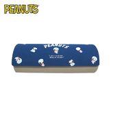 太空人款【日本正版】史努比 磁吸式 眼鏡盒 附擦拭布 Snoopy PEANUTS - 255636