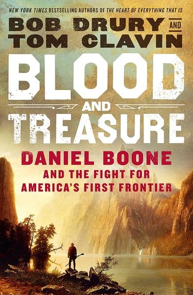 [2美國直購] Amazon 2021 暢銷排行榜 Blood and Treasure: Daniel Boone and the Fight for America's First Frontier