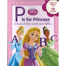 【迪士尼公主系列: 英文字母學習】P IS FOR PRINCESS /精裝硬頁書
