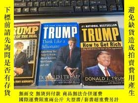 二手書博民逛書店TRUMP罕見The art of the deal Think Like a Billionaire How t