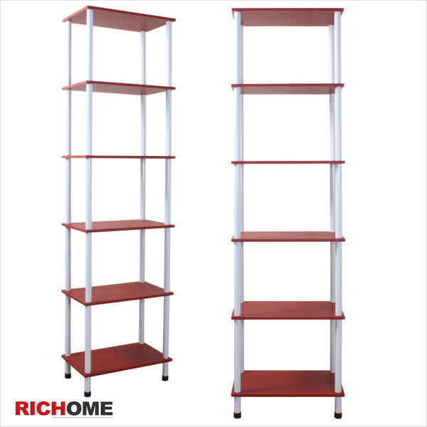 【RICHOME】♥I-I-SH359♥《特洛伊鐵管五層架》四層架 貨物架 四斗櫃 框架