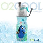 O2 COOL 鯨魚水壺12oz可噴霧 迪士尼版『海底總動員 』登山 戶外 慢跑 路跑 運動 水壺 HMCM12