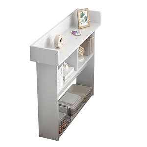【Incare】開放式木質三層收納櫃(120X24X97cm)暖白