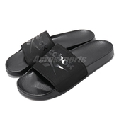 Reebok 拖鞋 Filgere Slide 黑 全黑 男鞋 基本款 復古 大LOGO 舒適好穿 涼拖鞋 【ACS】 CN6467