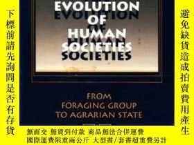 二手書博民逛書店The罕見Evolution Of Human Societies-人類社會的進化Y436638 Allen