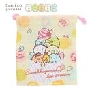 日本限定 角落生物 彩色冰淇淋版 束口袋...