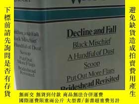 二手書博民逛書店Decline罕見and Fall, Black Mischief, A Handful of Dust, Sco