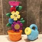 寶寶洗澡玩具花朵轉轉樂嬰兒童玩水水車戲水玩具灑水澆花玩具 小時光生活館