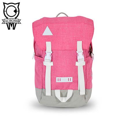 ACROSS 後背包 COOL系列 粉紅色 CL160704