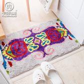 衛生間地毯 歐式民族風洗手間地毯 浴室門口臥室門墊吸水防滑家用地墊可機洗 igo