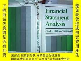 二手書博民逛書店Financial罕見Statement Analysis財務報表分析(415)Y203004