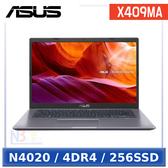 ASUS X409MA-0091GN4020 14吋 【0利率】 筆電 (N4020/4DR4/256SSD/W10H)