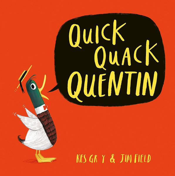 QUICK QUACK QUENTIN /英文繪本《主題: 幽默》